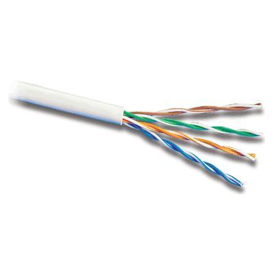 UTP 8 žilový kábel, Cat5, drôt, 1.0m, metráž, sivý