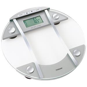 Váha Professor DBF 1502X osobní, digitální z tvrzeného skla měřící obsah vody a tuku