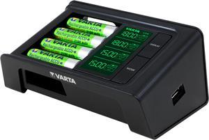 Varta LCD Smart Charger + 4xAA 2100mAh R2U 57674-441