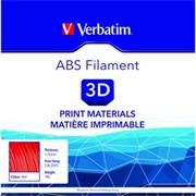 Verbatim 3D filament, ABS, 1,75mm, 1000g, 55013, červená