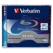 Verbatim BD-R DL 6x/50GB/Jewel, Scratchguard Plus