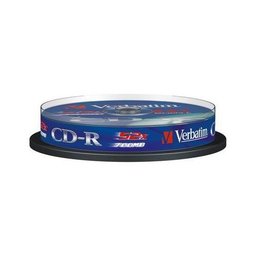 Verbatim CD-R 10 pack 52x/700MB/Extra Protection