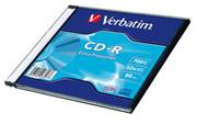 Verbatim CD-R 52x/700MB/Slim/Extra Protection