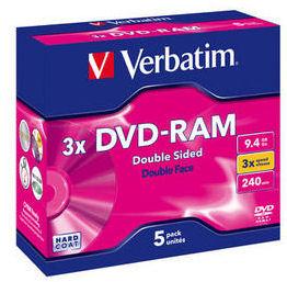 Verbatim DVD-RAM 3X/9.4GB Type 4