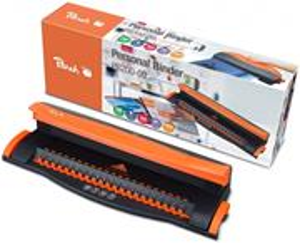 Viazač Peach Personal Binding Machine (PB200-09) pro vazbu až 50 listů do plastových hřbetů