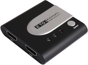Video prepínač - HDMI switch 2:1 automaticky