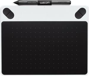 Wacom Intuos Draw S, tlakovo citlive pero, biely