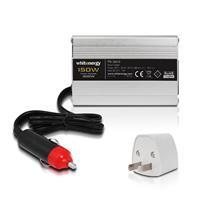 Whitenergy napäťový menič DC/AC z 24V na 230V 150 W, USB