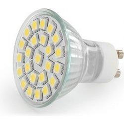 Žiarovka LED Emos 5050 24LED GU10 studená biela