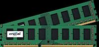 16GB DDR3L - 1600 MHz Crucial CL11 UDIMM kit 1.35V/1.5V, 2x8GB