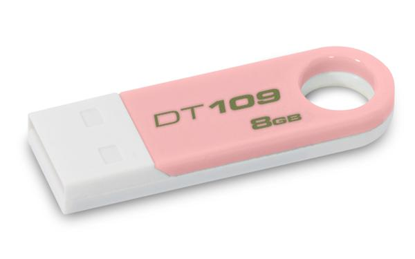 92585b7df 8 GB . USB klúč . Kingston DataTraveler 109 ružový DT109N/8GB ...