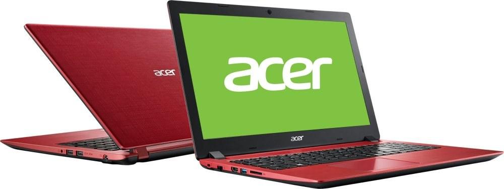 Acer Aspire 3 A315-31-P5XY, červený