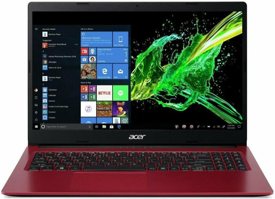 Acer Aspire 3 A315-34-C1EB, červený + Microsoft 365 pre jednotlivcov