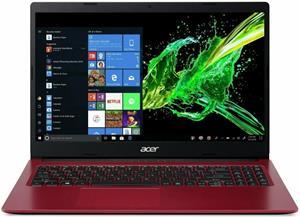 Acer Aspire 3 A315-34-C1EB, červený