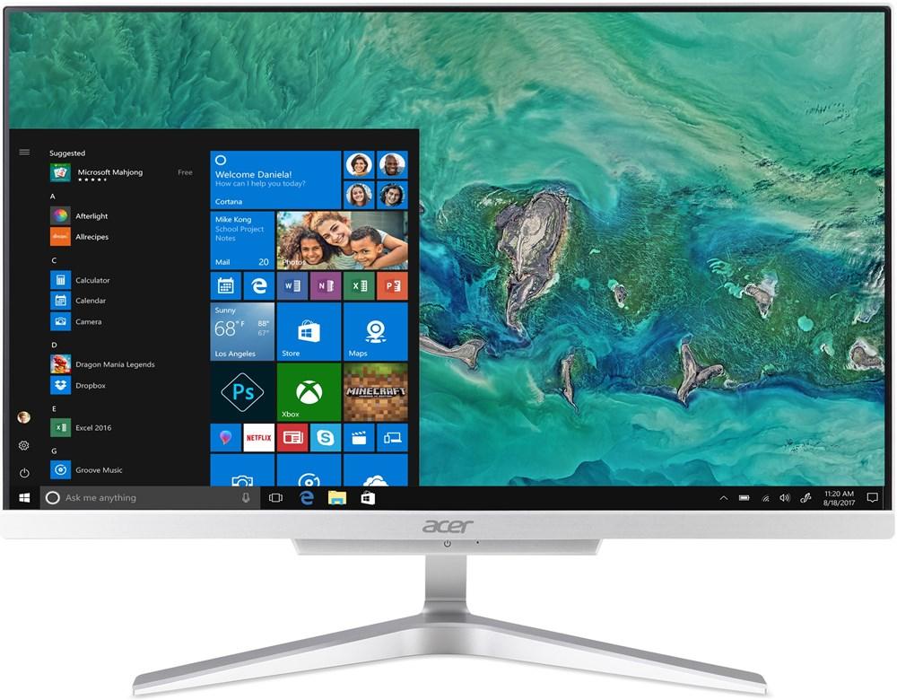"""Acer Aspire C22-865 - 21,5"""", strieborný"""