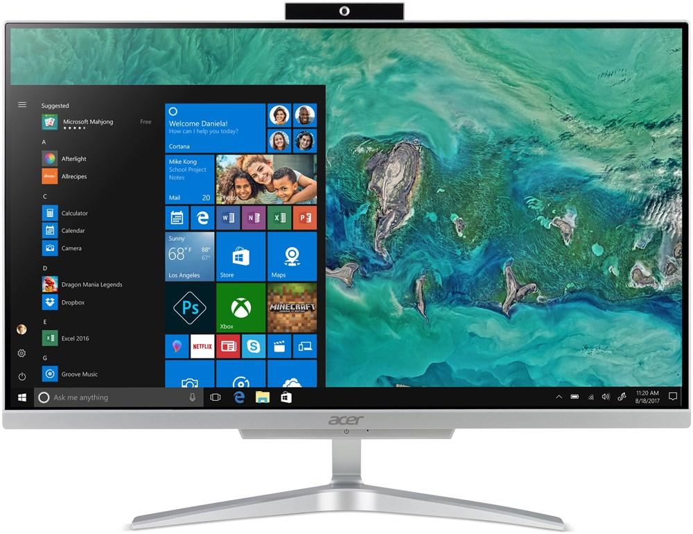 """Acer Aspire C24-865 - 23,8"""", strieborný"""