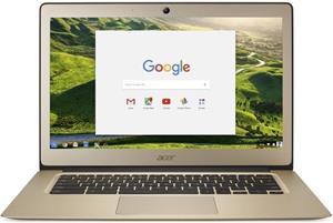 Acer Chromebook 14 CB3-431-C5PK, zlatý