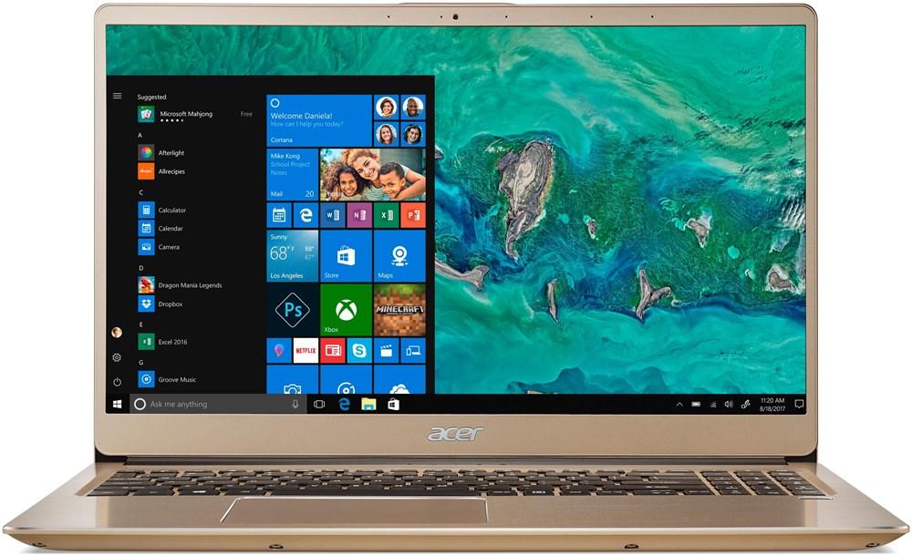 Acer Swift 3 NX.GZBEC.003, zlatý