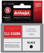 ActiveJet ink Canon CLI-526Bk, čierny, 10 ml, bez chipu