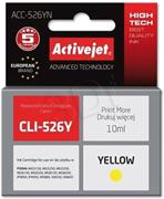 ActiveJet ink Canon CLI-526Y, žltý, 10 ml, bez chipu