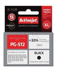 ActiveJet ink Canon PG-512, čierny, 18 ml