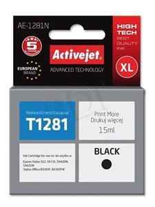 ActiveJet ink Epson T1281, čierna, 15 ml