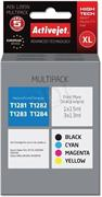ActiveJet ink Epson T1285, multipack, 1x 15 ml, 3x 13 ml