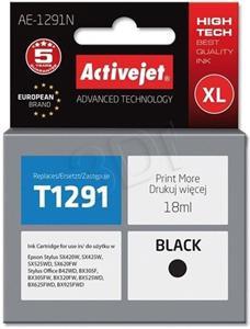 ActiveJet ink Epson T1291, čierny, 18 ml