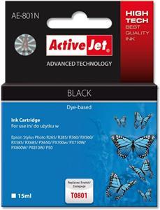 ActiveJet kompatibil Epson T0801, čierny, 15ml
