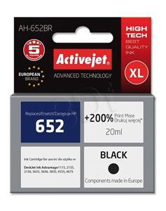 Activejet kompatibil HP F6V25AE, čierny, 20ml