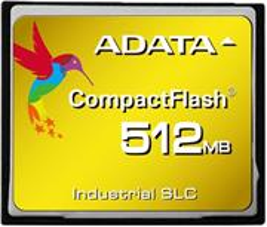 ADATA Compact Flash, pamäťová karta, SLC, 512 MB, bulk