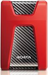 Adata HD650, 1 TB, červený