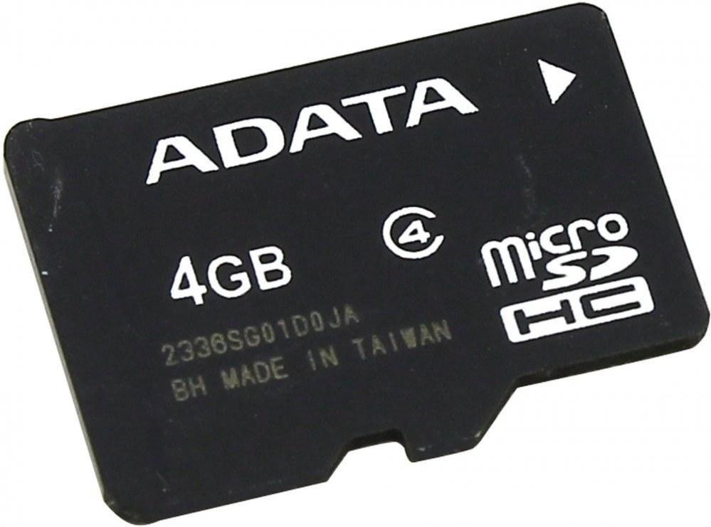 Adata microSDHC 4GB