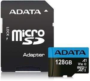 ADATA Premier microSDXC pamäťová karta, 128GB + adaptér