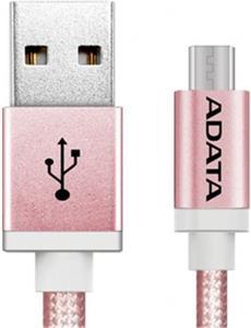 Adata prepojovací micro USB kábel, ružový