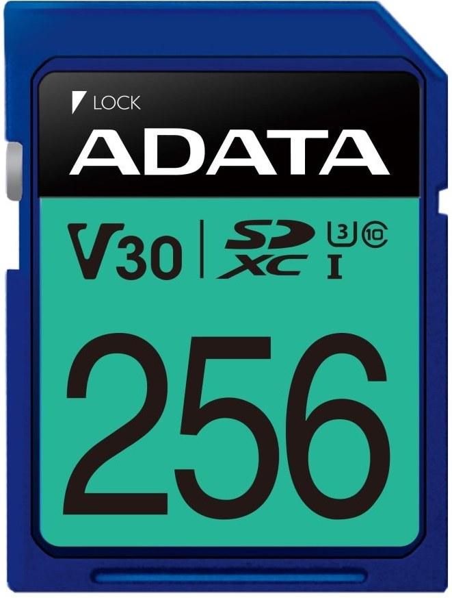 Adata Sdxc Premier Pro Uhs I U3 Karta 256 Gb Asdx256gui3cl10 R