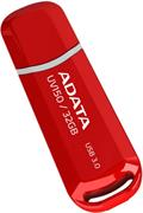 ADATA UV150, 32GB, DashDrive, červený