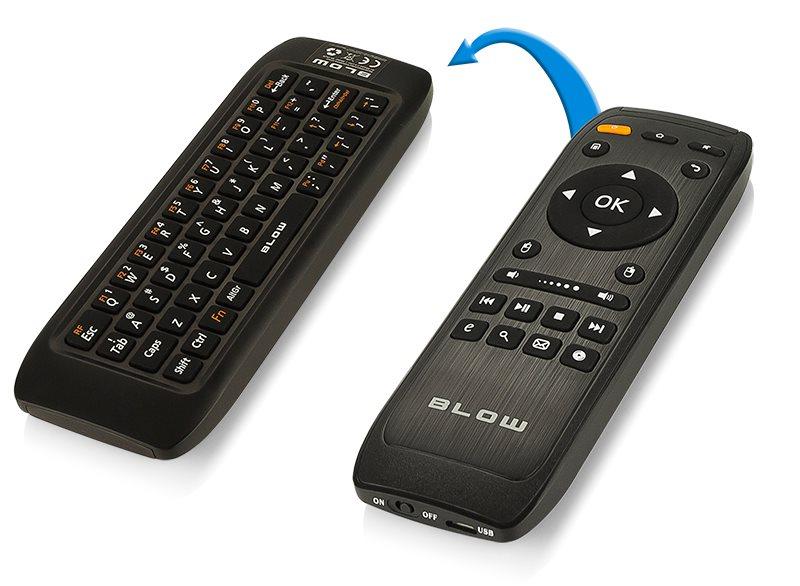 Airmouse BLOW bezdrôtové diaľkové ovládánie s QWERTY klávesnicou