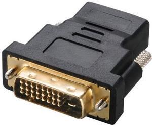 Akasa redukcia DVI na HDMI M/F, krátka