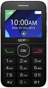 Alcatel 2008G, SingleSim, strieborný