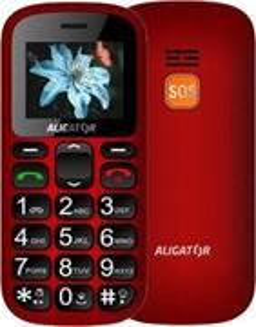 Aligator A321 Senior, DualSim, červený