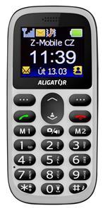 Aligator A510 Senior, biely