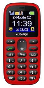 Aligator A510 Senior, červený