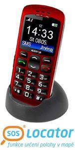 Aligator A670 Senior červený + stolní nabíječka