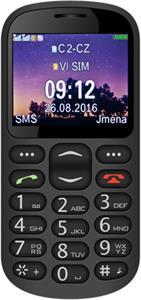 Aligator A880 GPS Senior černý + stolní nabíječka