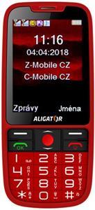 ALIGATOR A890 Senior, červený