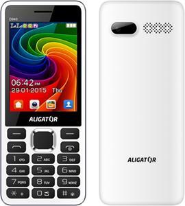 Aligator D940, DualSim, biely