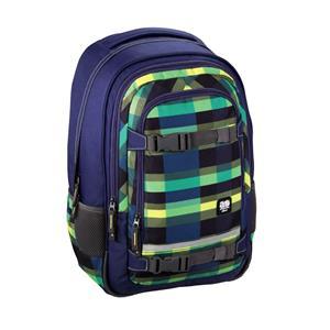 All Out Selby Backpack, Summer Check Green, školský ruksak