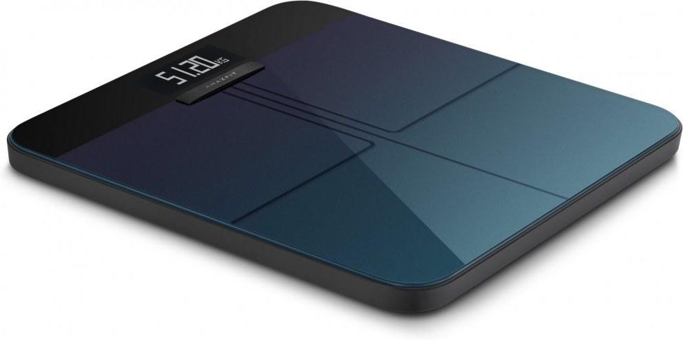 Amazfit Smart Scale Aurora, inteligentná váha, modrá