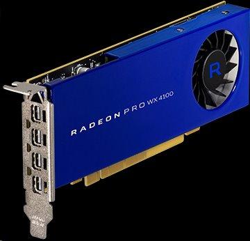 AMD Radeon Pro WX 4100 Workstation Graphics 4GB/128bit GDDR5 4x mDP, LP